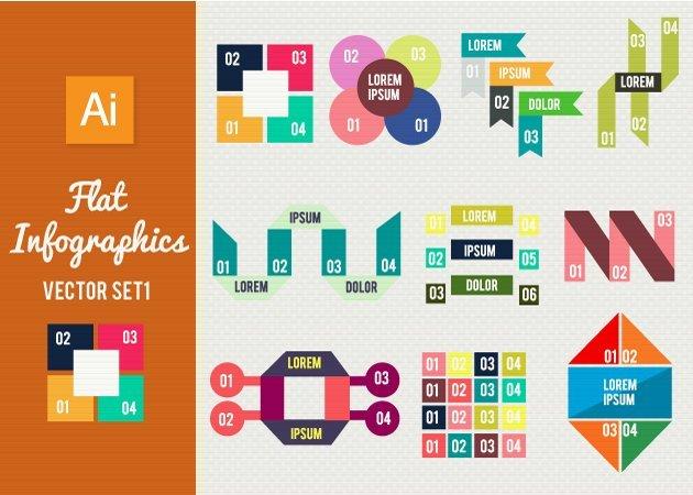 Designtnt-Vector-Flat-Infographics-Set-1-small
