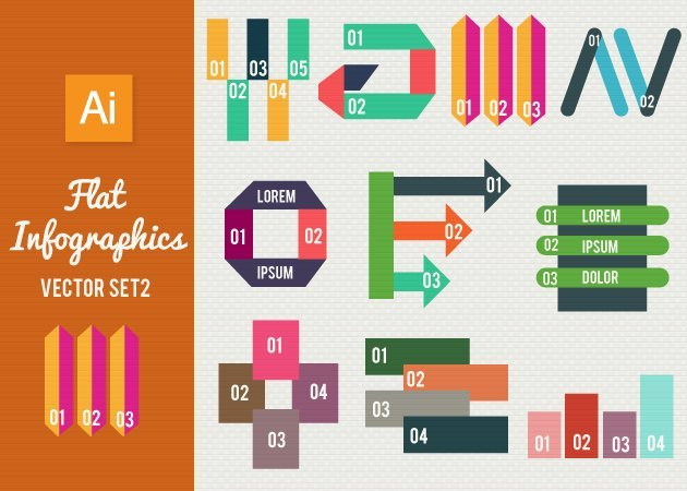 Designtnt-Vector-Flat-Infographics-Set-2-small