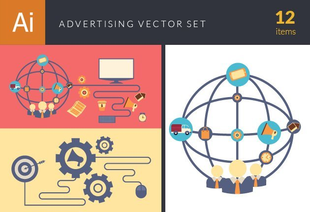 design-tnt-vector-Flat Advertising Concept Vector set 1-small