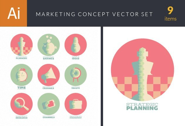 design-tnt-vector-Flat Marketing Concept Vector Set 1-small