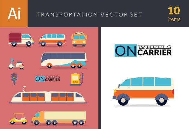 design-tnt-vector-Transportation Vector Set 1-small