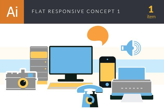 design-tnt-vector-flat-responsive-concept-set-1-small