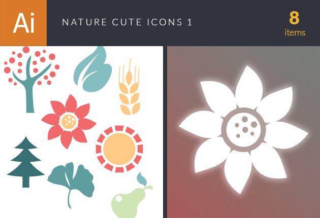 design-tnt-vector-nature-cute-icons-set-small