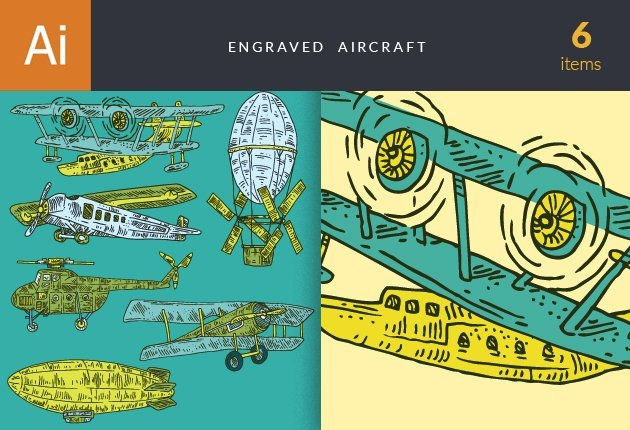 designtnt-vector-engraved-aircraft-small