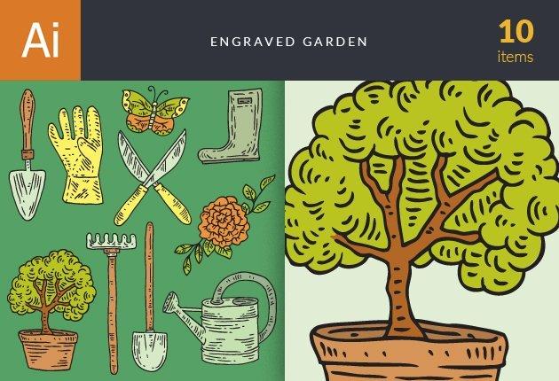designtnt-vector-engraved-garden-small