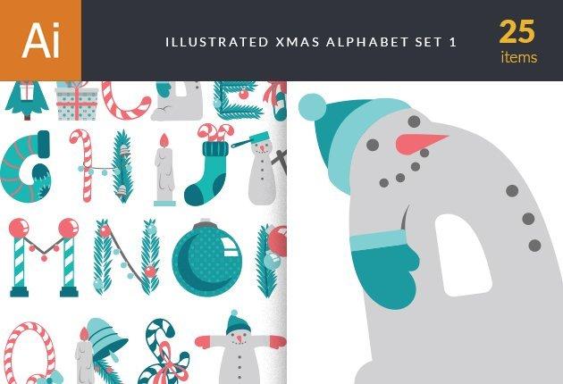 designtnt-vector-xmas-alphabet-small