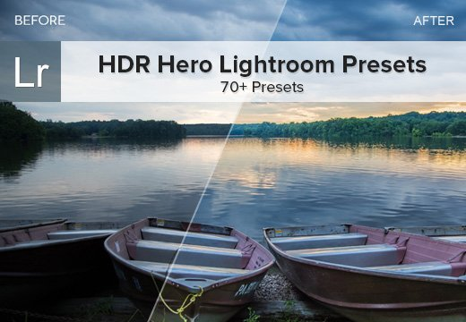 HDR Hero Lightroom Presets: 70+ Presets for Only $13