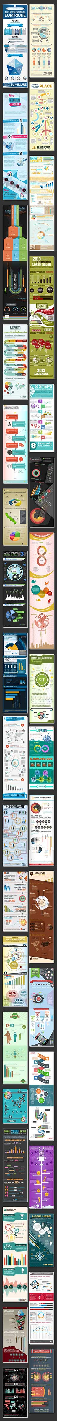 The Infographic Super Bundle: 105 Awesome RF Templates for Just $27