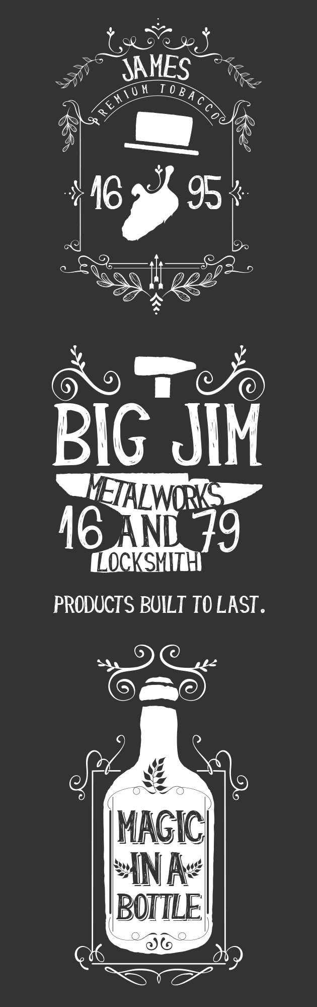 Freebie of the week the next big thing is almost here and you typography creation kit sample baditri Gallery