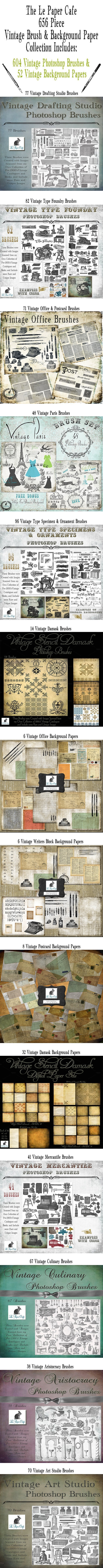 ultimate-vintage-paper-and-brush-collection-preview-big