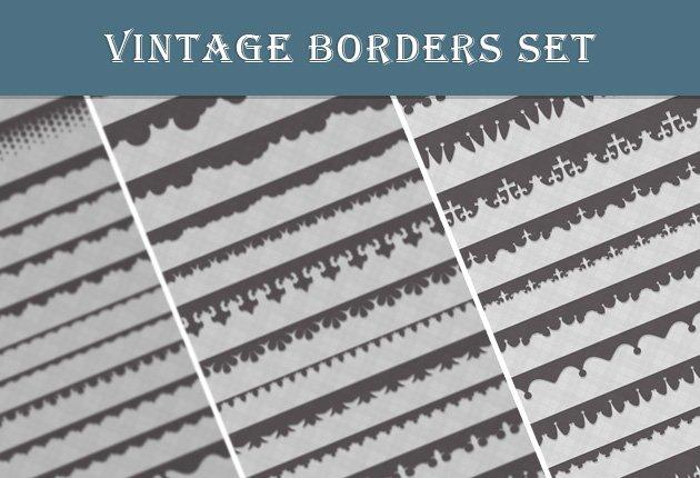 designtnt-web-vintage-borders-set-preview-small