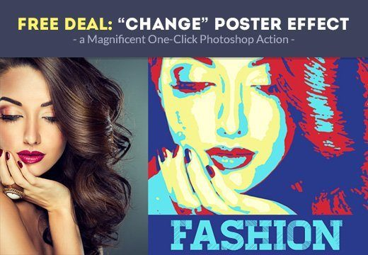 free-change-poster-photoshop-action-preview