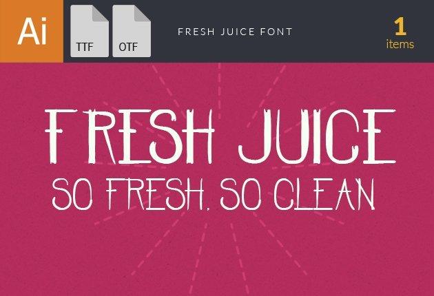fonts-fresh-juice-small