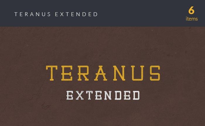 font-teranus-small