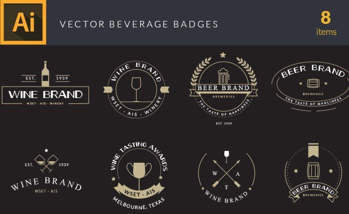 vector-beverages-badges-small