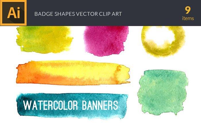design-tnt-vector-watercolor-badge-shapes-small