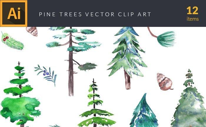 design-tnt-vector-watercolor-pine-trees-small
