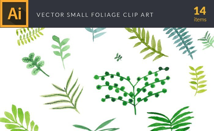 design-tnt-vector-watercolor-small-foliage-small