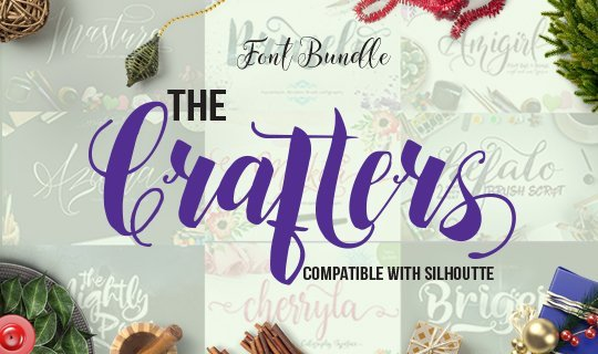 Crafters Font Bundle
