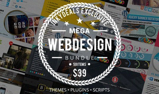 mega-web-design-bundle-with-3450-worth-of-items