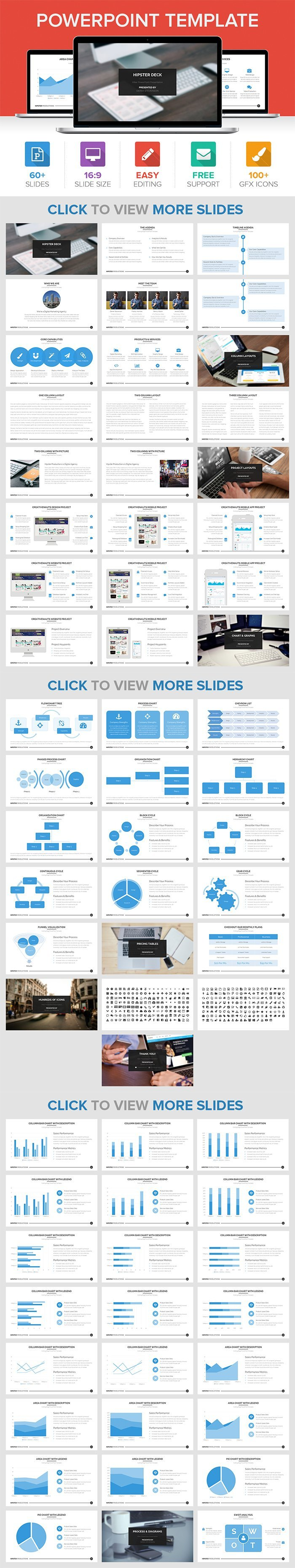 Get 5 best powerpoint templates for only 15 inkydeals hipster powerpoint template toneelgroepblik Choice Image