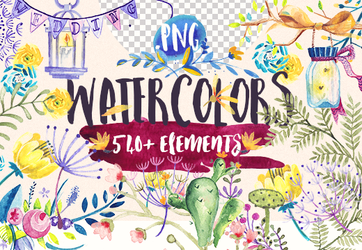 inkydeals-beautiful-watercolor-collection-preview