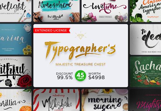 typographer majestic treasure