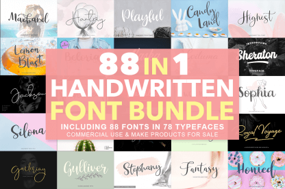 Fonts Archives - InkyDeals