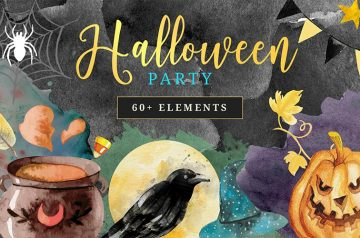 The Halloween Party Elements