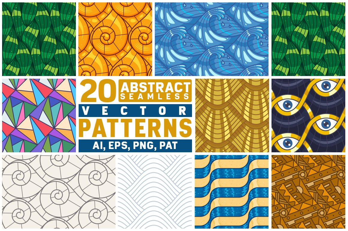 abstract-line-seamless-patterns
