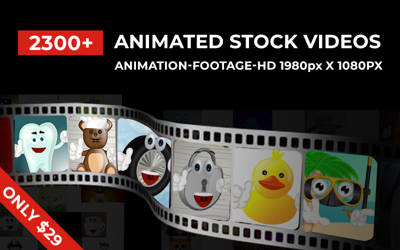 $39 (reg $16,940) Inky Deals 2300+ Animated Stock Videos