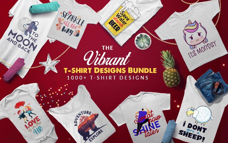 Vibrant t-shirt