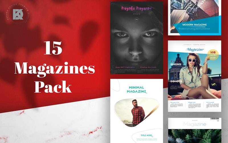 Magazine Templates Bundle