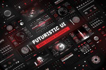 Futuristic UI Kit 01