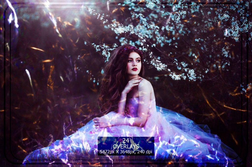 Sparkle Photo Overlays 14