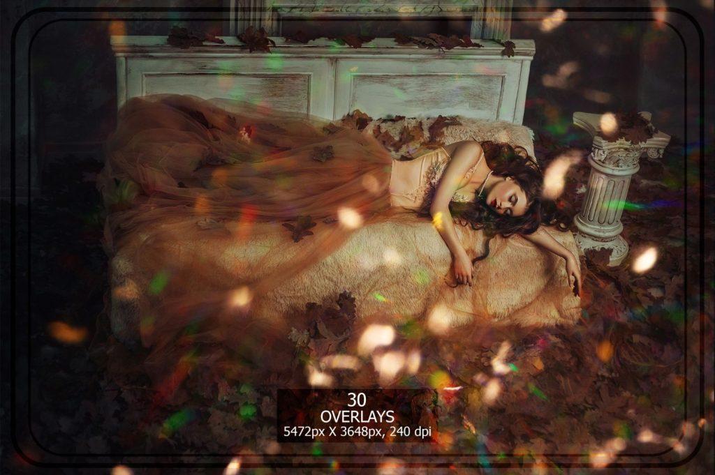 Sparkle Photo Overlays 18