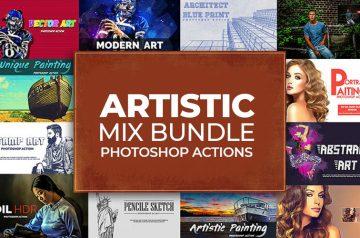 artistic actions bundle