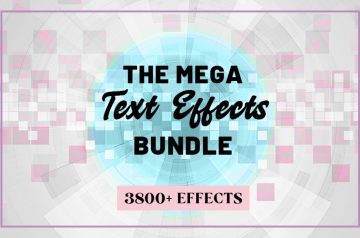 Cover for text effects
