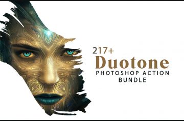 217+ Duotone PS actions