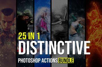 Distinctive Photoshop Actions