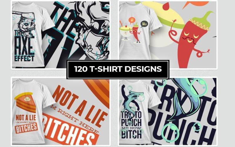 120-Tshirt-Designs Cover