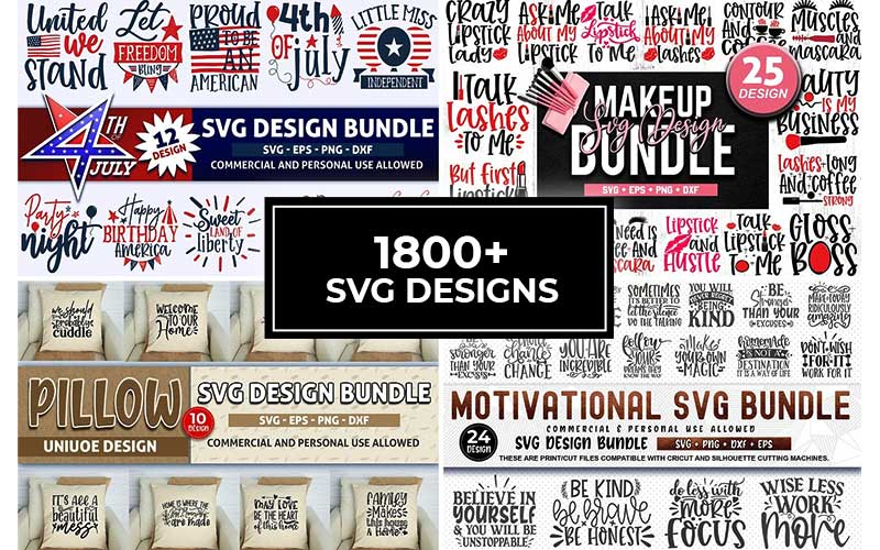 1800 SVG Designs cover