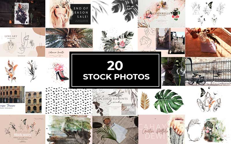 20 stock photos