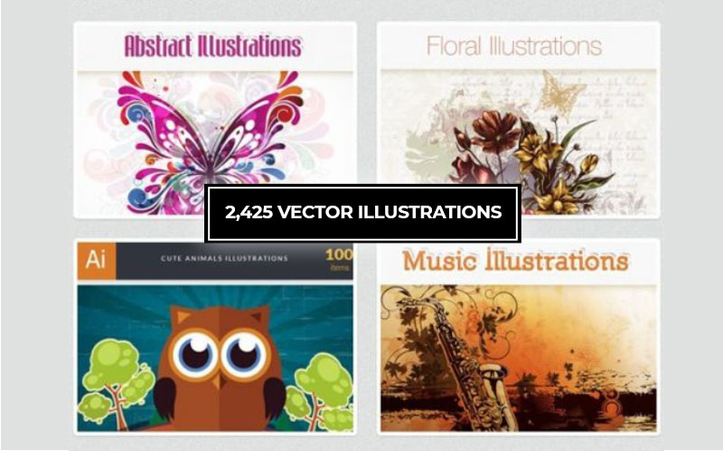 2425 Vector Illustrations cover