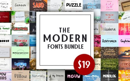 Modern Fonts Bundle