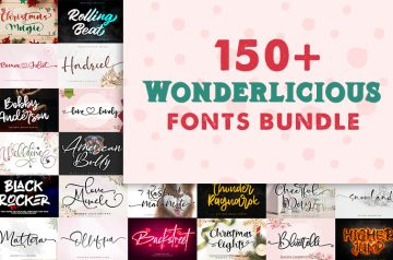 150-Wonderlicious-fonts-banner