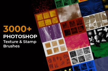 3000+-Photoshop-Texture-&-Stamp-Brushes