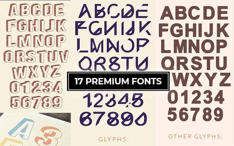 17-premium-fonts-cover
