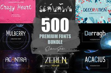 Premium Fonts Bundle