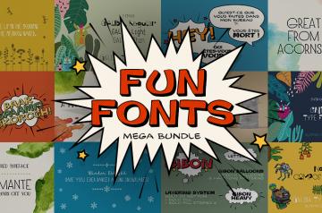 fun fonts bundle